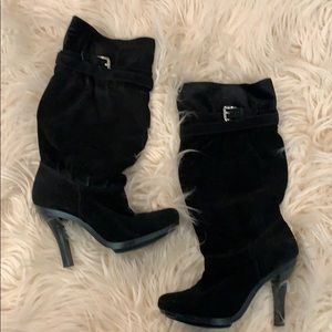 Michael Kors • slouchy suede boots